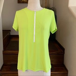 Lot of 5 Women's Medium Workout Tops NWT